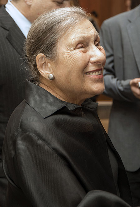 Profile of Dorothy Lemelson smiling