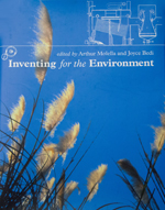 Cover of Inventing for the Environment, showing waving ornamental grass fronds against a blue sky