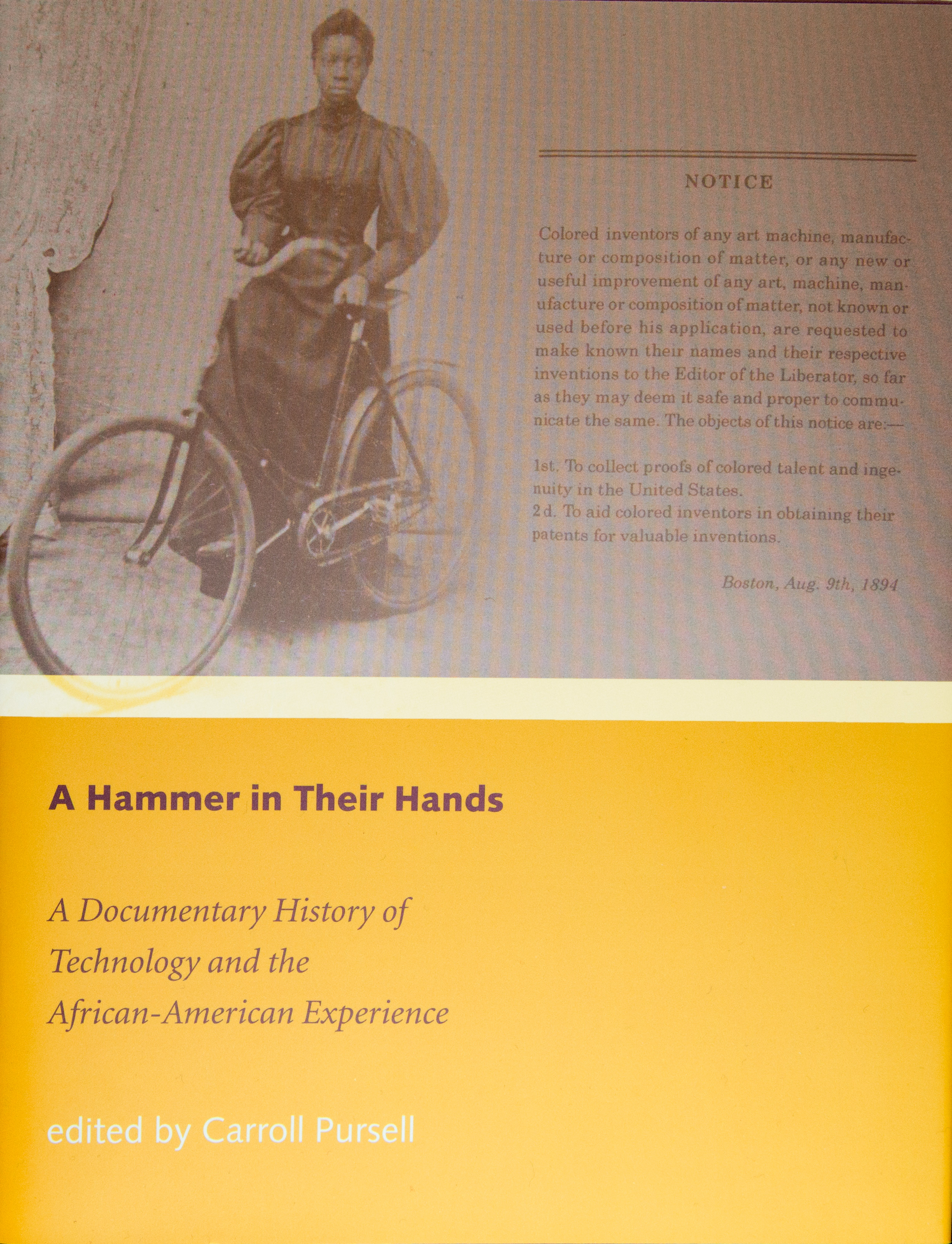 Image of book cover - A Hammer in Their Hands