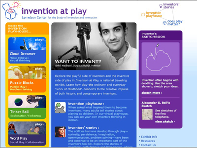 Lemelson Center Invention at Play website, 2002