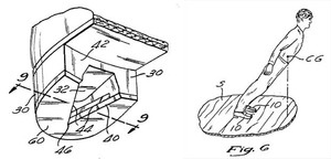 A patent drawing from Michael Jackson's application.