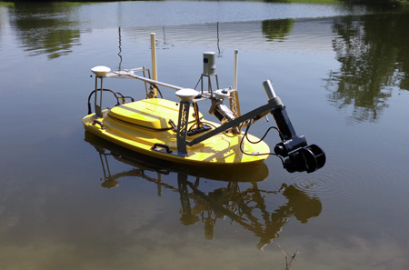 Multifunctional Assessment and Reconnaissance Vessel afloat
