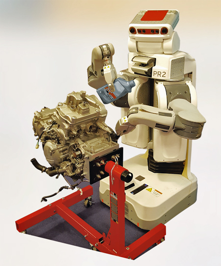 Draper teaching robot
