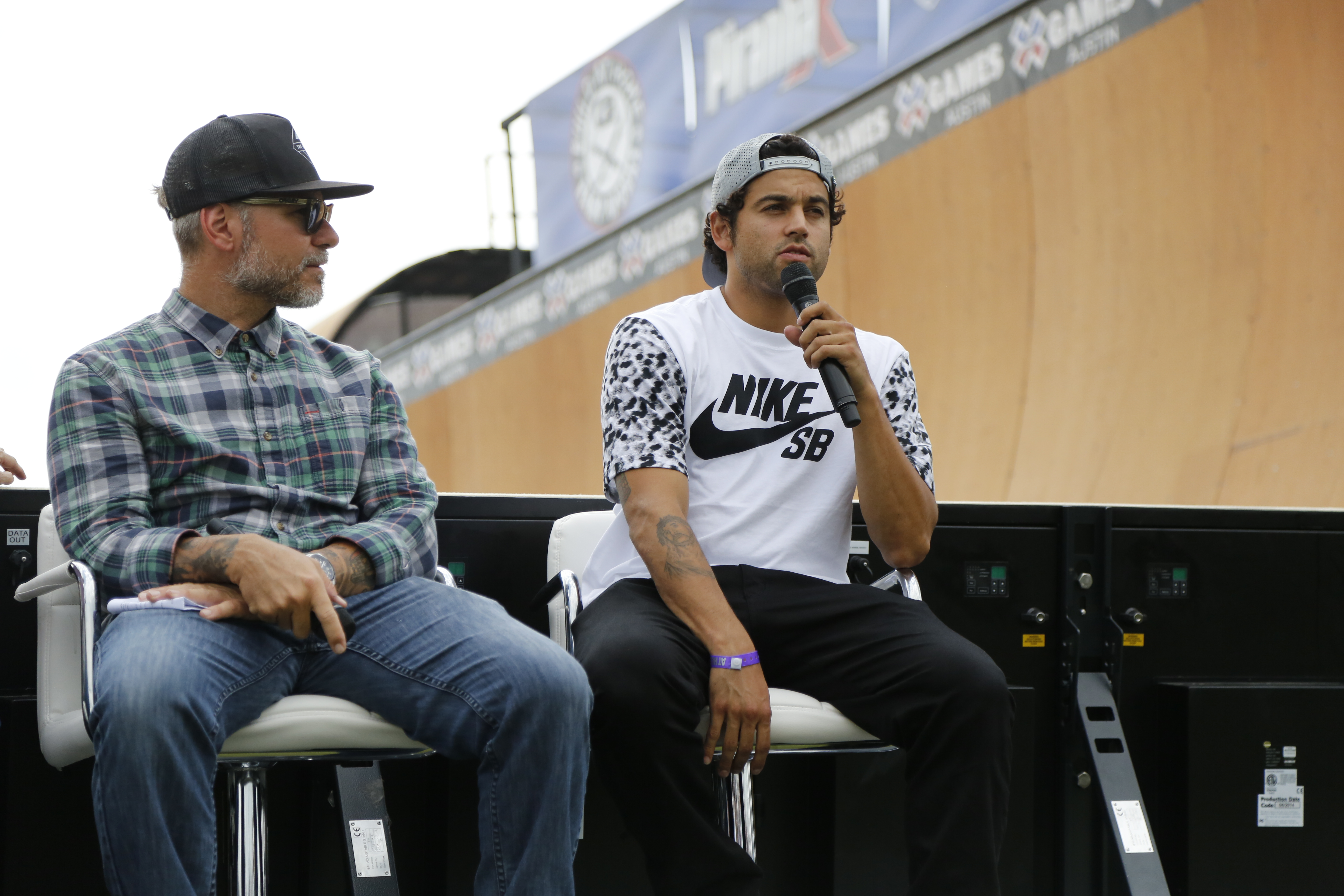 Ryan Clements and Paul Rodriguez at Innoskate X Games