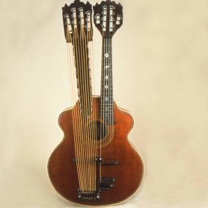 Photo of Bohmann Harp Guitar, 1910