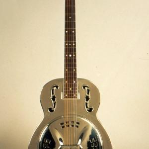 Photo of Dobro Guitar, around 1940
