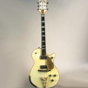 Image of Gretsch White Penguin Guitar, 1956