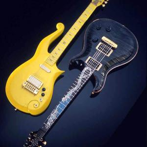 Photo of 2 of Prince's guitars