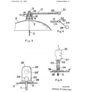 Image of Lemelson patent for toy cap 2