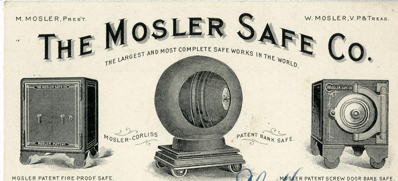 Mosler Safe Company advertisement