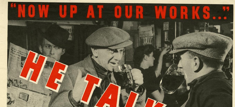 WWII propaganda poster.