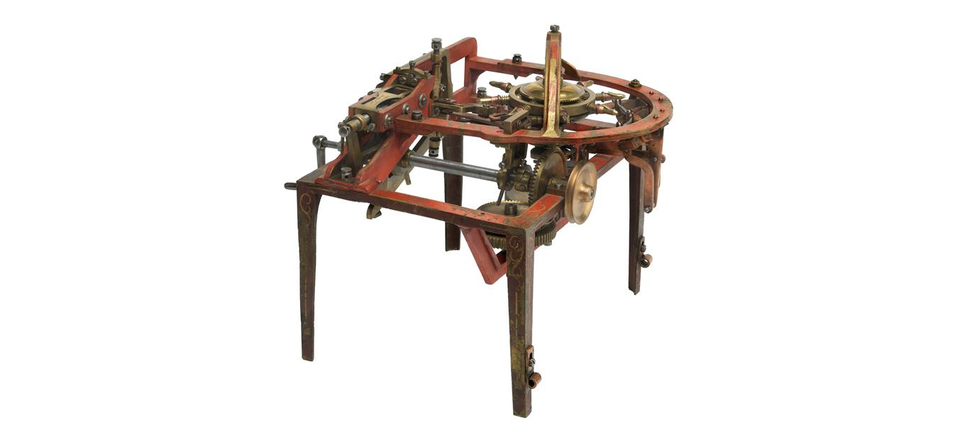 Patent model of the pin-making machine invented by John Howe