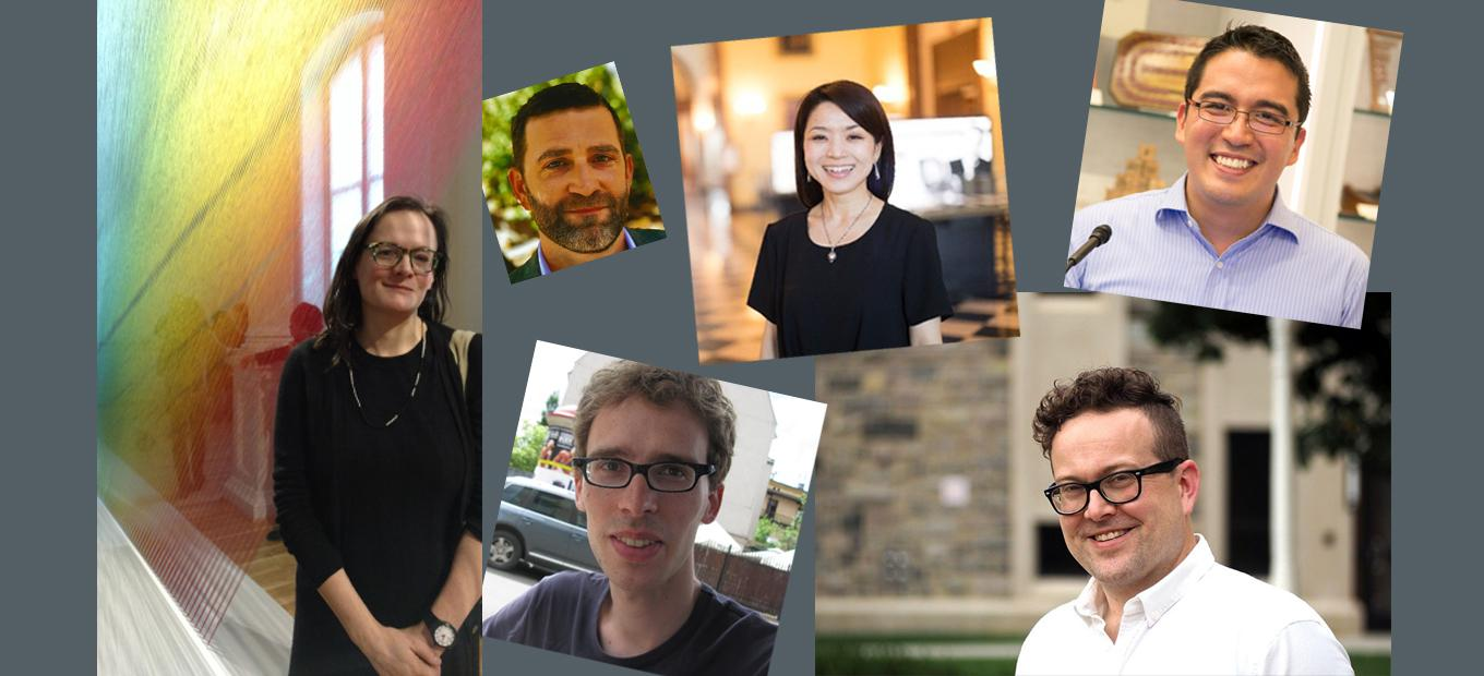 Collage of snapshots of Lemelson Fellows authors