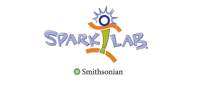 """Sparky"" cartoon stick figure logo"