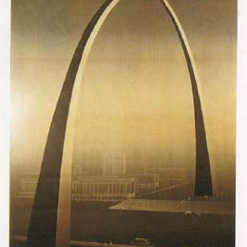 "Poster depicting proposed ""Arch of Empire"""