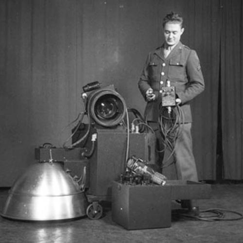 Edgerton's aerial recon system.