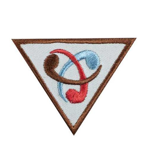 Triangular Brownie Inventor Badge
