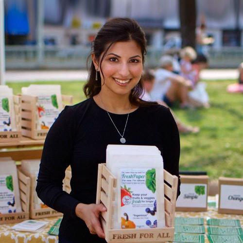 Fresh Paper inventor Kavita Shukla