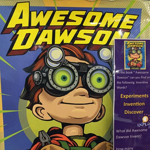 Cover of book Awesome Dawson by Chris Gall
