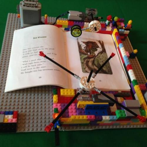 An invention using LEGOS