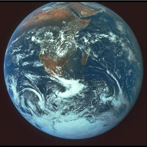 """Blue Marble"" photograph of Earth from Space"