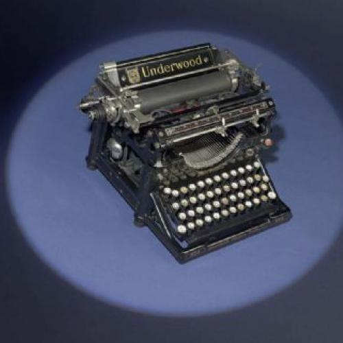 Underwood Typewriter Model #5, 1914
