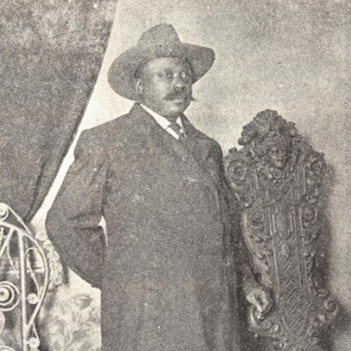 Richmond attorney Giles B. Jackson (1853-1924), director-general of the Negro Development and Exposition Company (NDEC) and the visionary behind the Jamestown Tercentennial Exposition's Negro Building.