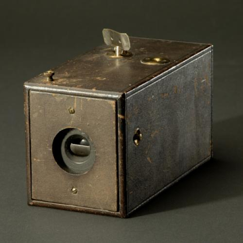 An original Kodak camera in the collections at the National Museum of American History