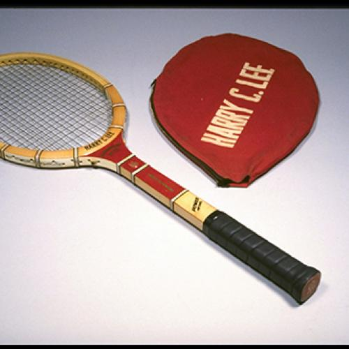 Tennis racket used by Althea Gibson