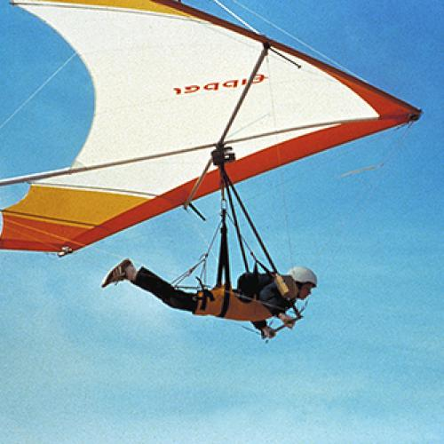 Hang glider invented by Paul MacCready
