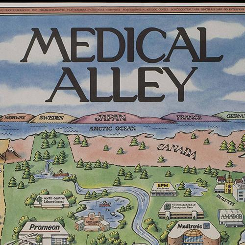 Medical Alley MN poster