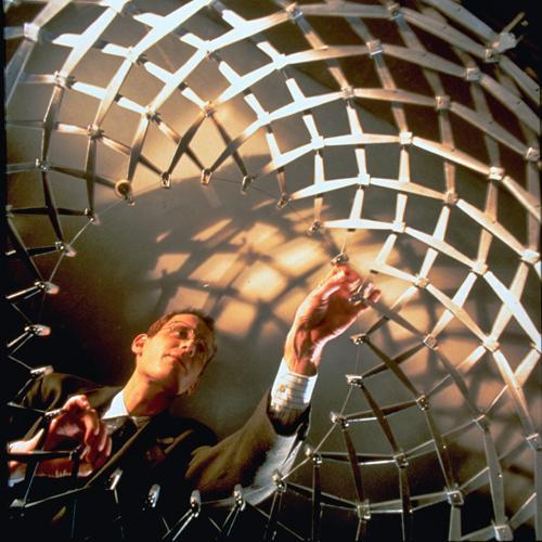 Chuck Hobeman expanding a sphere