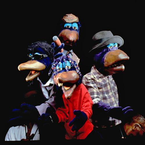 The Crowtations puppets