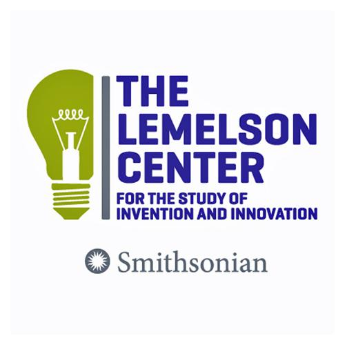 Lemelson Center logo featuring a drawing of a light bulb