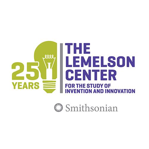 Lemelson Center 25 Years logo with light bulb