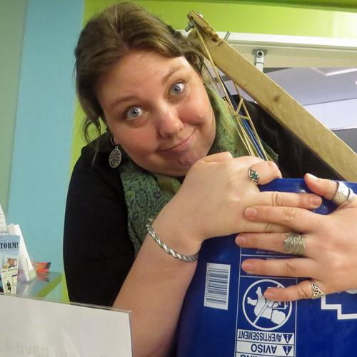 Close-up of Spark!Lab Lead Facilitator Nyssa Buning