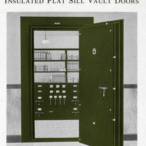 Ad for Mosler safe, 1937