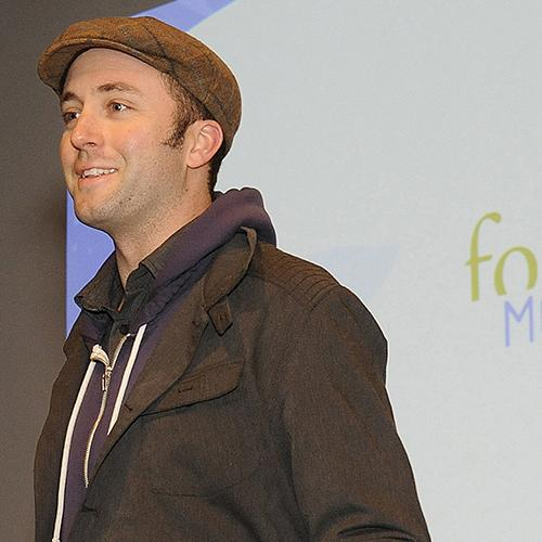 Ian Cheney speaks at the 2010 symposium, Food for Tomorrow