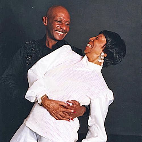 Norma Miller and Chazz Young in a dance pose