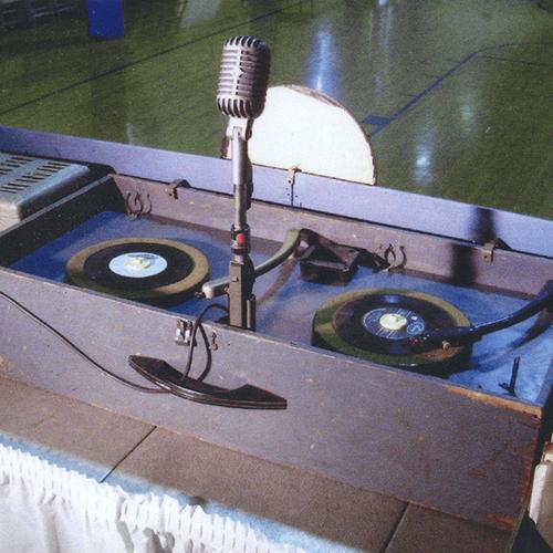 Bob Casey's dual turntable