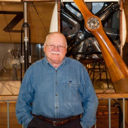 National Air and Space Museum curator Tom Crouch