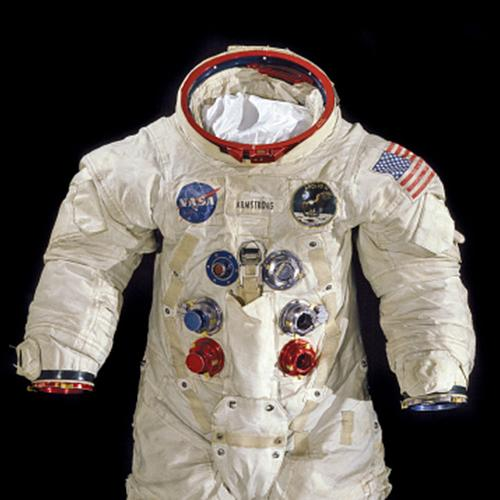 Pressure suit worn by Neil Armstrong on Apollo 11