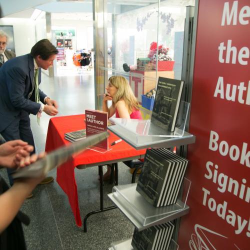 Image of Sarah Kate Gillespie signing books