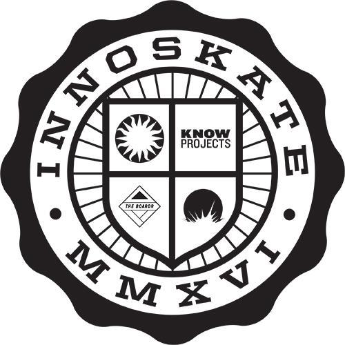 Graphic logo for Innoskate 2016