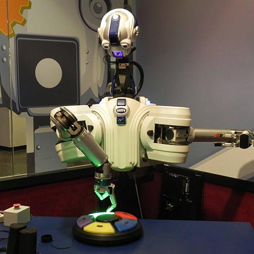 DARPA ARM Robot playing Simon