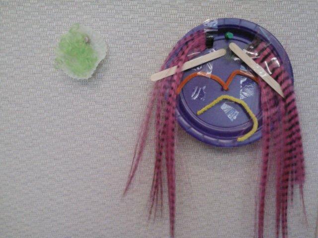 Visitor art representing various emotions.